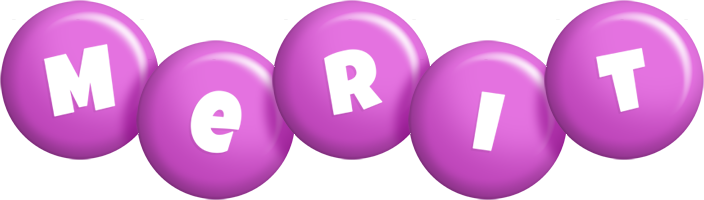 Merit candy-purple logo