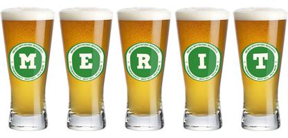 Merit lager logo
