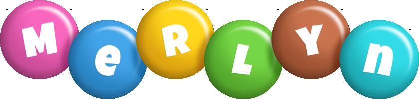 Merlyn candy logo