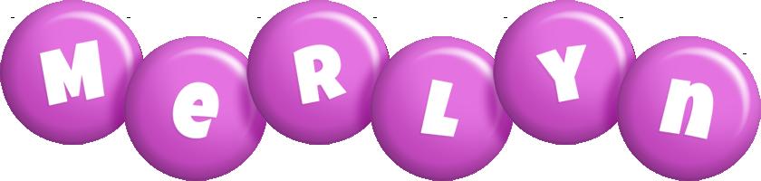Merlyn candy-purple logo
