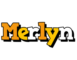 Merlyn cartoon logo