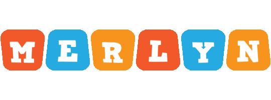 Merlyn comics logo