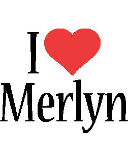 Merlyn i-love logo