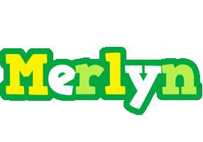 Merlyn soccer logo