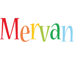 Mervan birthday logo