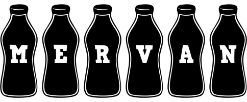 Mervan bottle logo