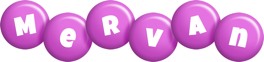 Mervan candy-purple logo