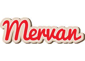 Mervan chocolate logo