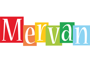 Mervan colors logo