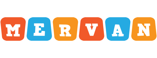 Mervan comics logo