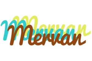 Mervan cupcake logo