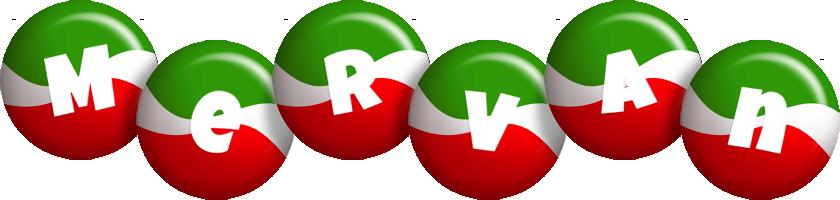 Mervan italy logo