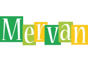 Mervan lemonade logo