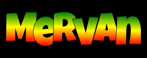 Mervan mango logo