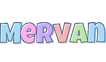 Mervan pastel logo