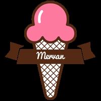 Mervan premium logo