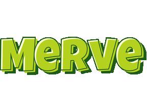Merve summer logo
