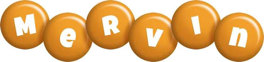 Mervin candy-orange logo