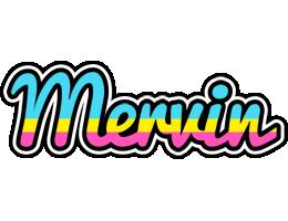 Mervin circus logo