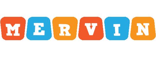 Mervin comics logo