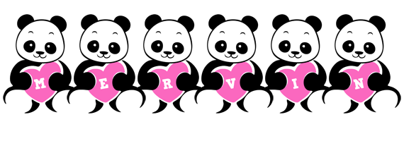 Mervin love-panda logo
