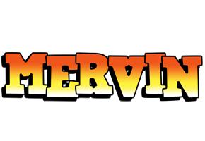 Mervin sunset logo