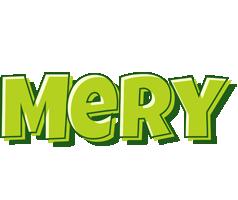 Mery summer logo