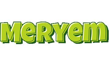 Meryem summer logo