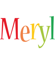 Meryl birthday logo