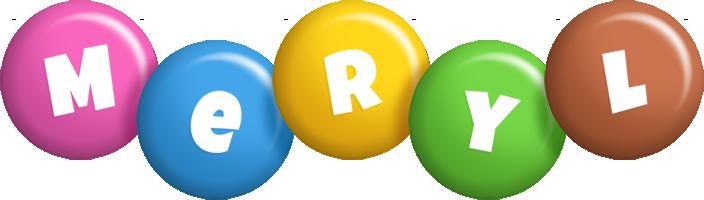 Meryl candy logo