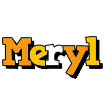 Meryl cartoon logo