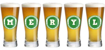 Meryl lager logo