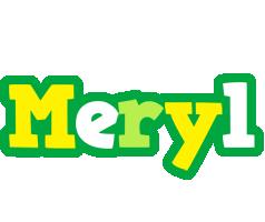 Meryl soccer logo