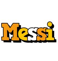 Messi cartoon logo