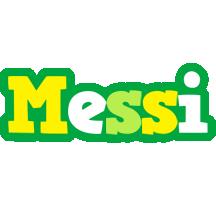 Messi soccer logo