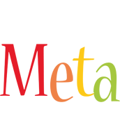 Meta birthday logo