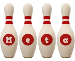 Meta bowling-pin logo
