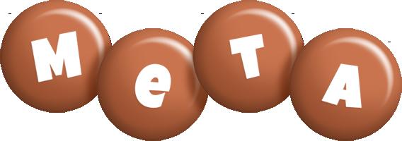 Meta candy-brown logo