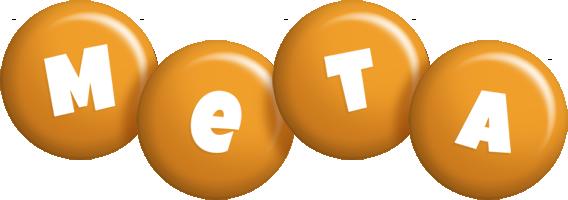 Meta candy-orange logo