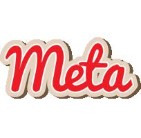 Meta chocolate logo