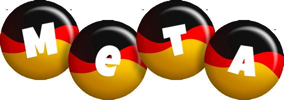 Meta german logo