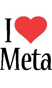 Meta i-love logo