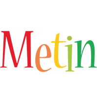 Metin birthday logo