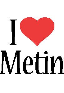 Metin i-love logo