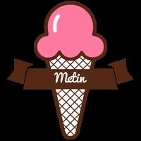 Metin premium logo