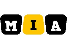 Mia boots logo
