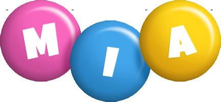 Mia candy logo