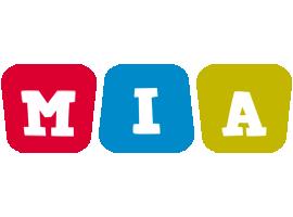 Mia daycare logo