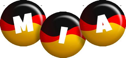 Mia german logo