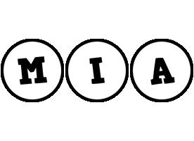 Mia handy logo